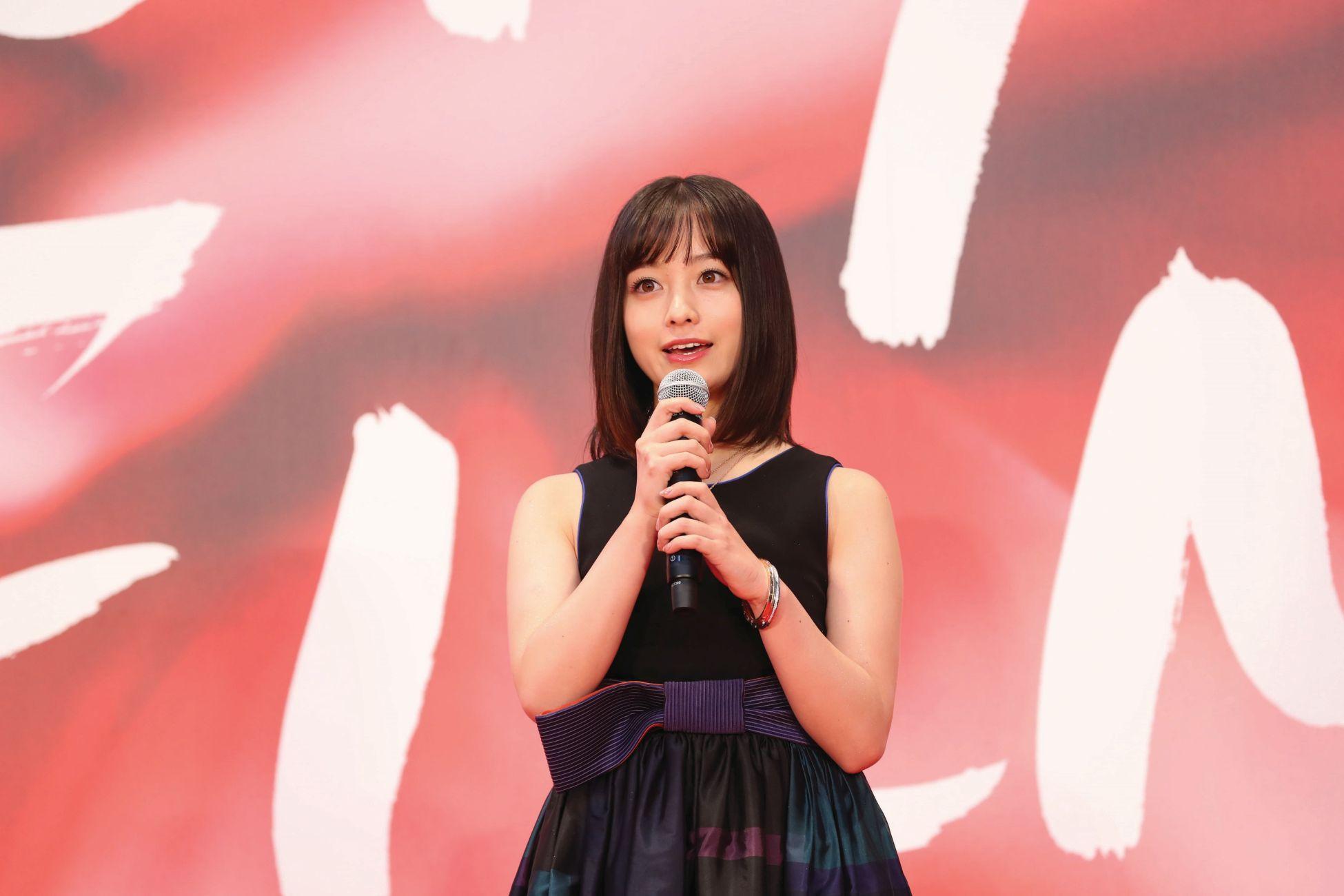 Kanna Hashimoto (c)2017 TIFF