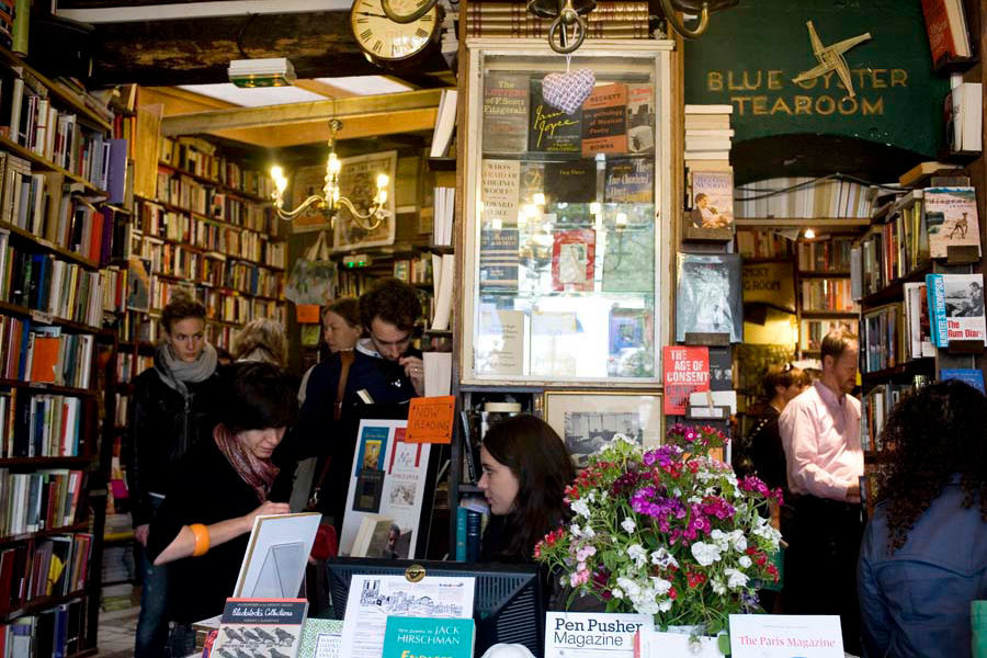 Shakespeare & co, kuva: Anuliina Savolainen