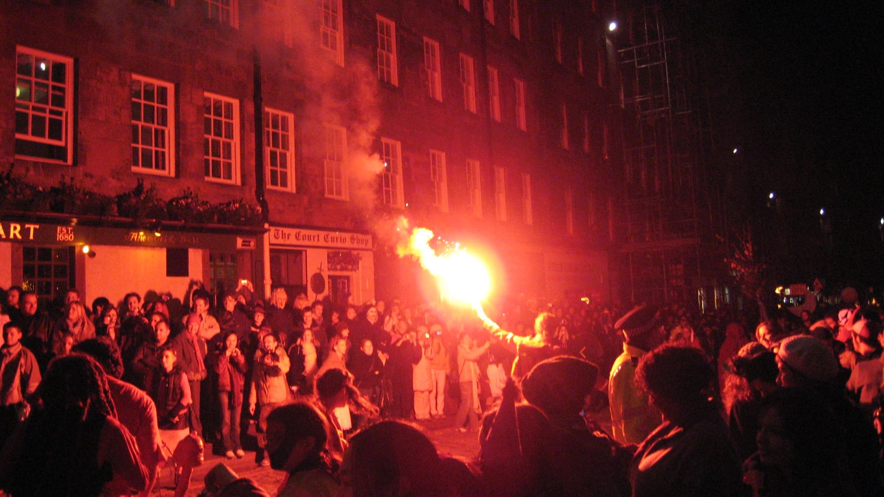 Halloweenia skotlantilaisittaiRoyal Milella. Kuva: valanzola.t, Flickr CC BY-SA 2.0