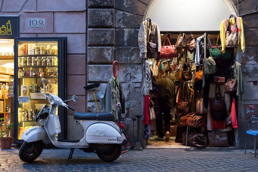 Rooma on pikkuputiikkien kaupunki © Tuulia Kolehmainen