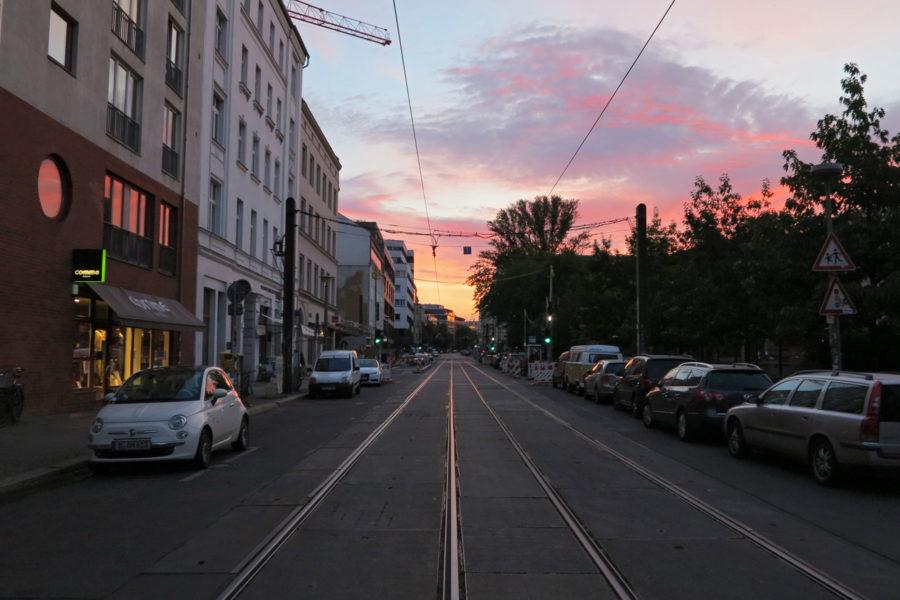 Aamuöinen katunäkymä. Kuva: Erica Löfman