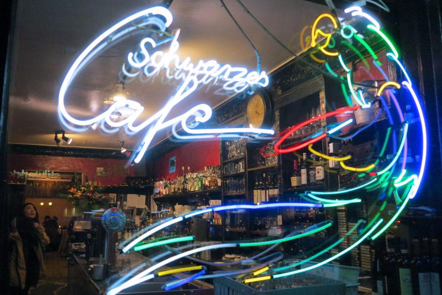 Schwarzes Café -ravintola. Kuva Erica Löfman