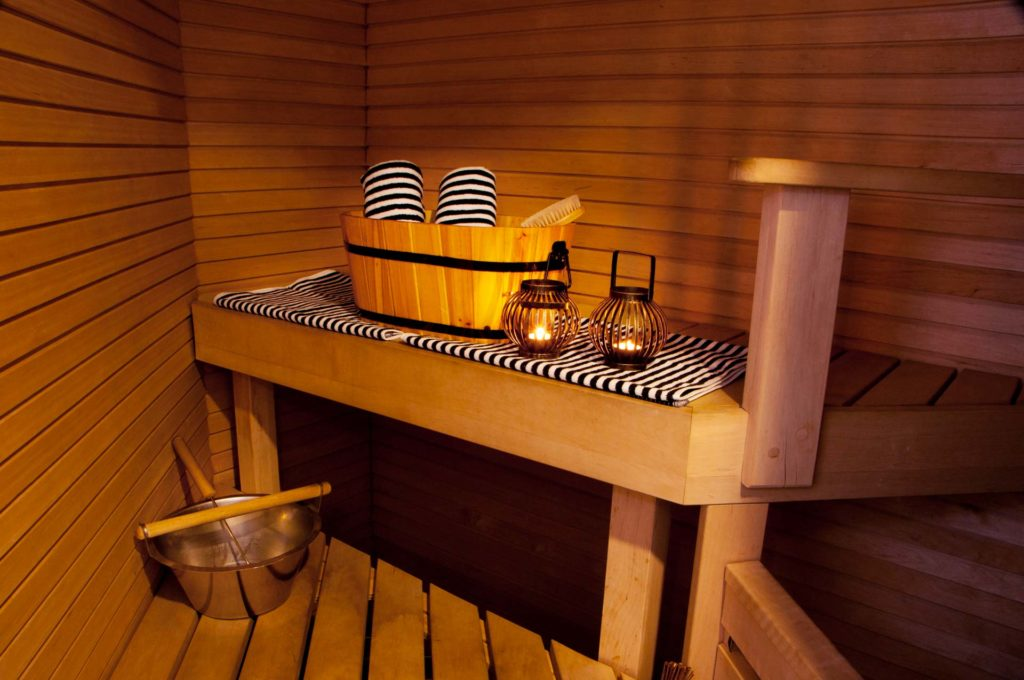 Hotel Katajanokka Junior suite sauna