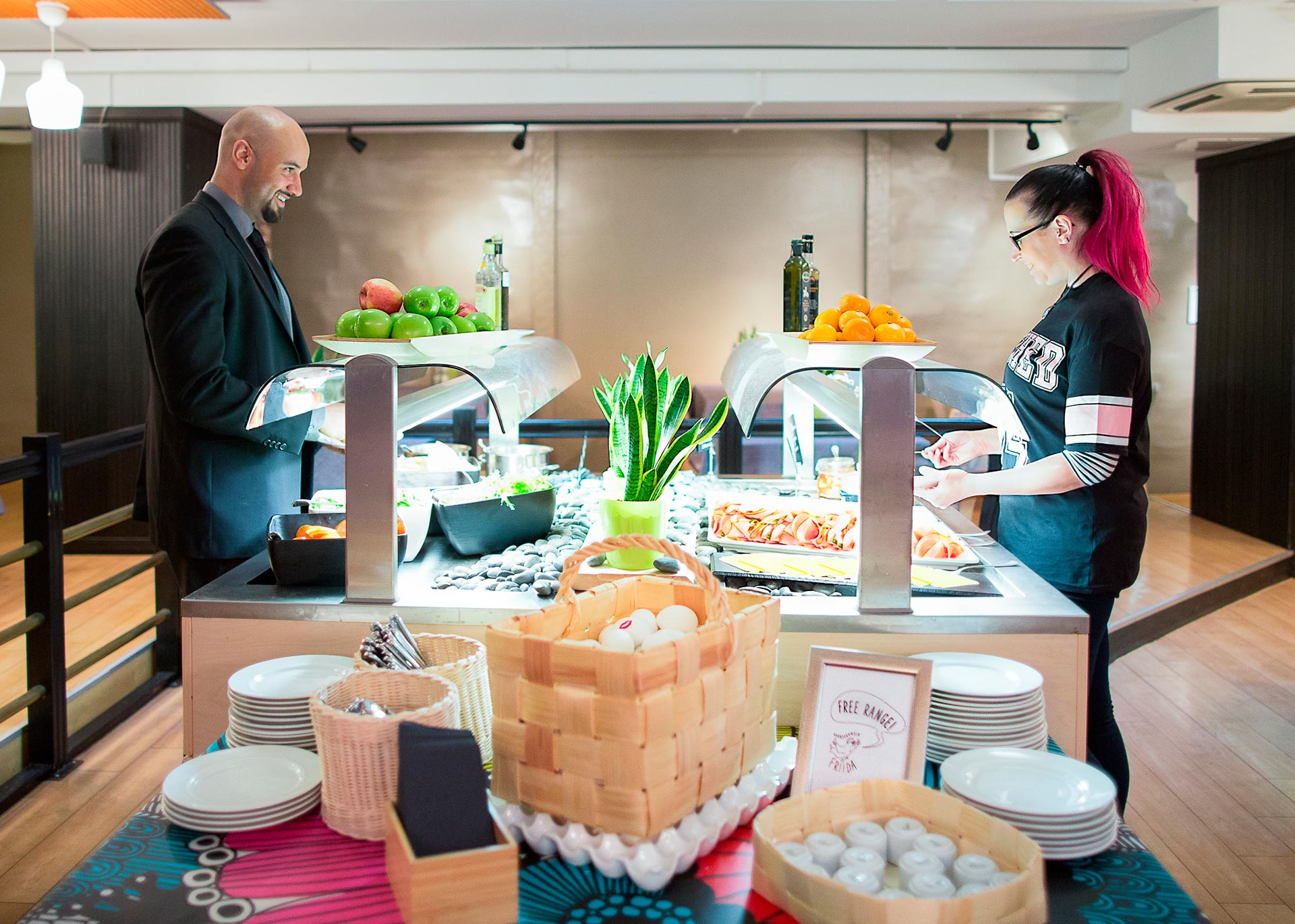 Aamiainen Hotel Helka