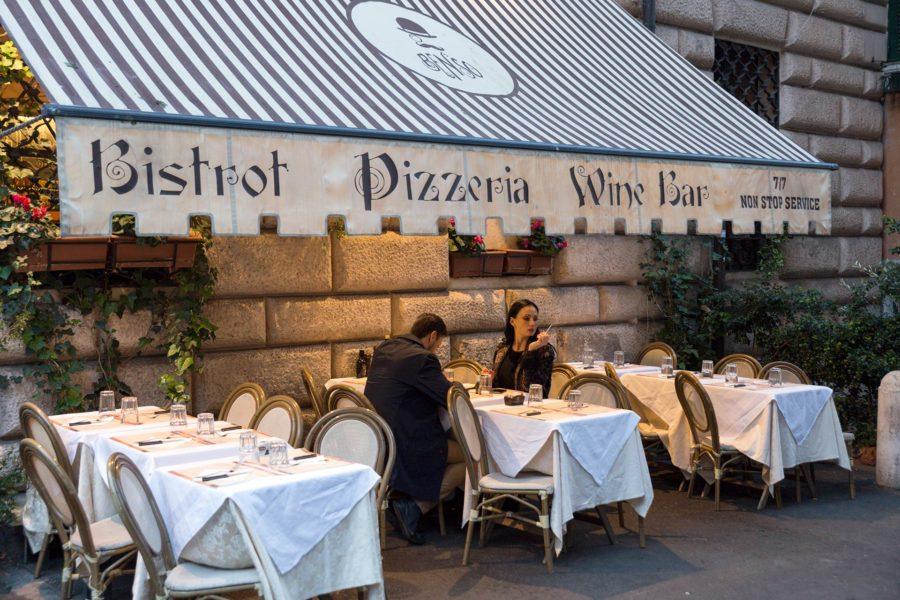 Ravintola Roomassa. © Tuulia Kolehmainen