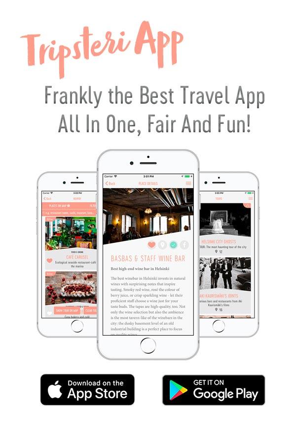 Tripsteri App -banneri