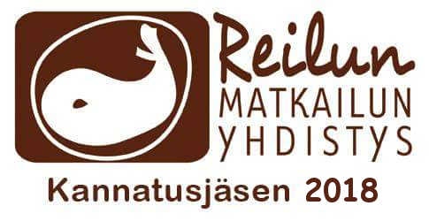 Reilun matkailun kannatusjasen- logo 2018