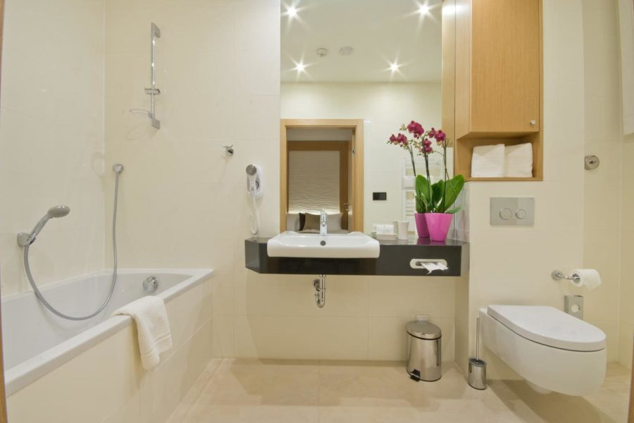 Kylpyhuone ©Hotel Residence