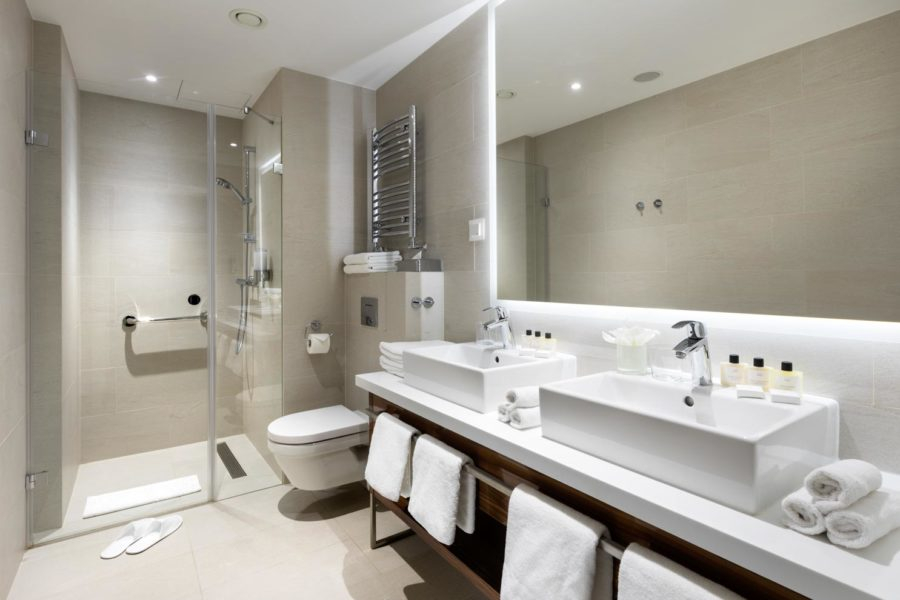 Kylpyhuone ©Hotel Sopot
