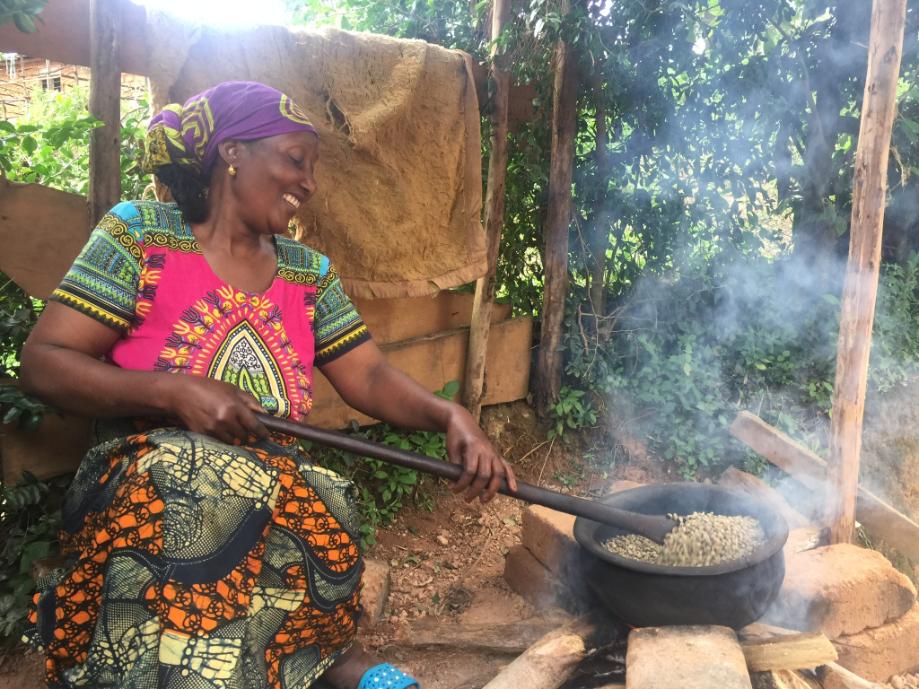 Tansanialaista kahvia