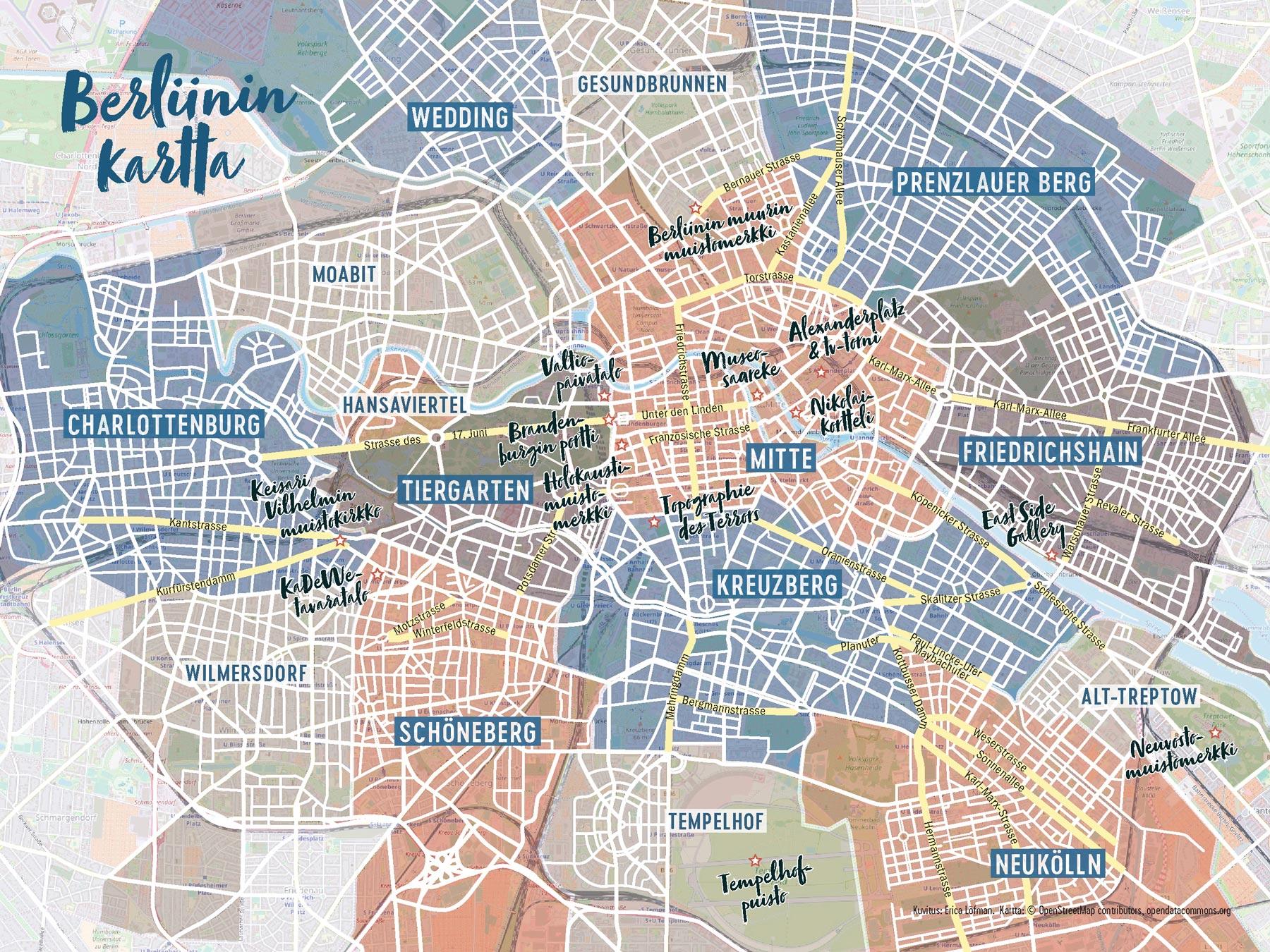 Berliinin Kaupunginosat Tripsteri