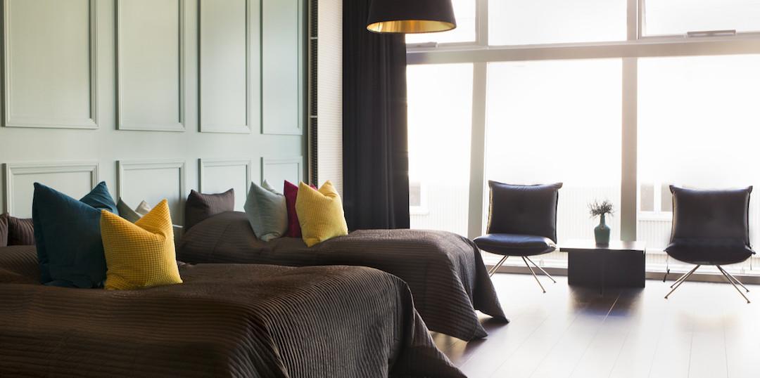 Room with a View, hyvällä maulla sisustettuja erikokoisia huoneistoja Reykjavíkin keskustassa. Kuva: Room with a View.