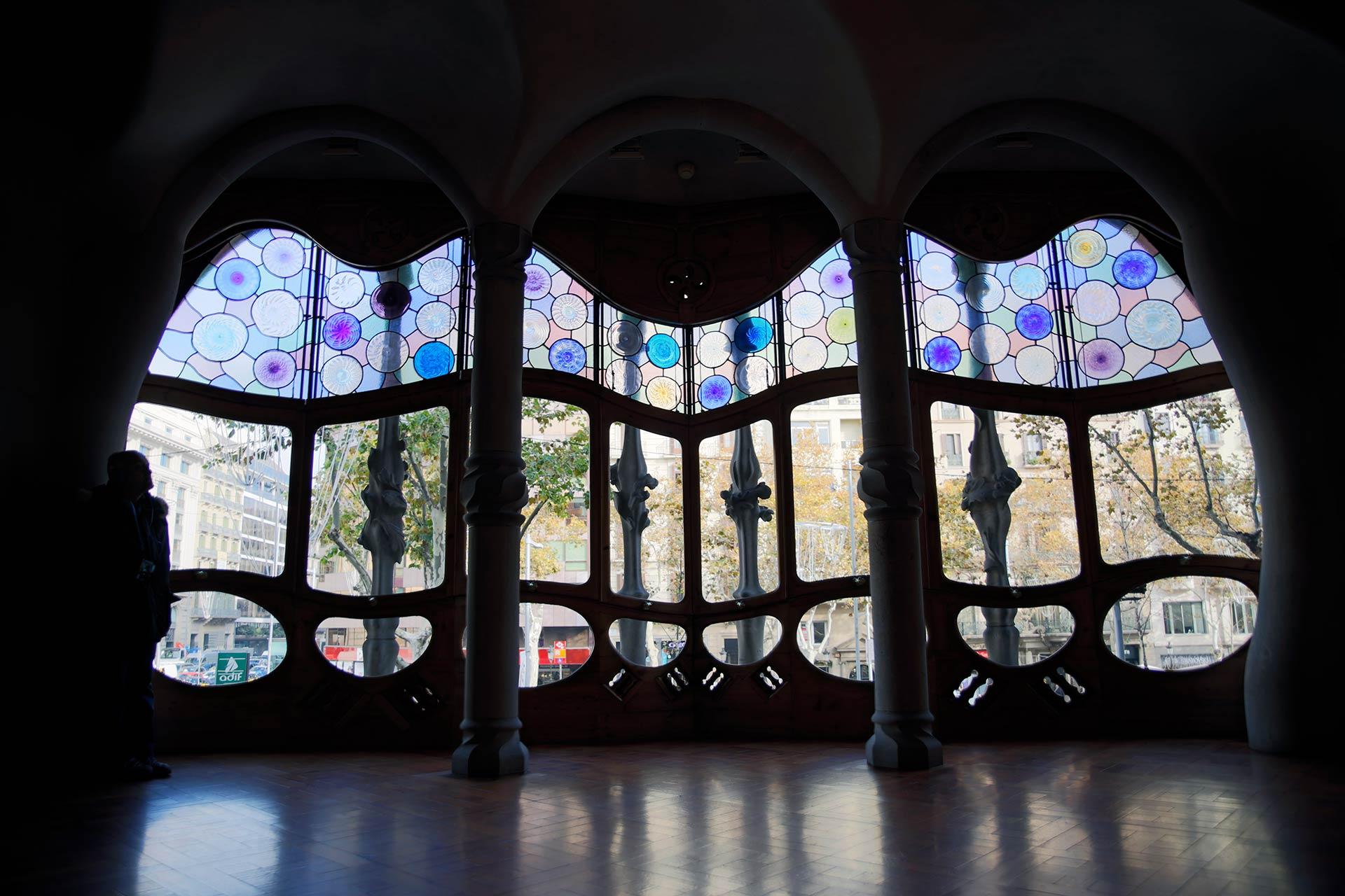 Casa Batlló sisältä