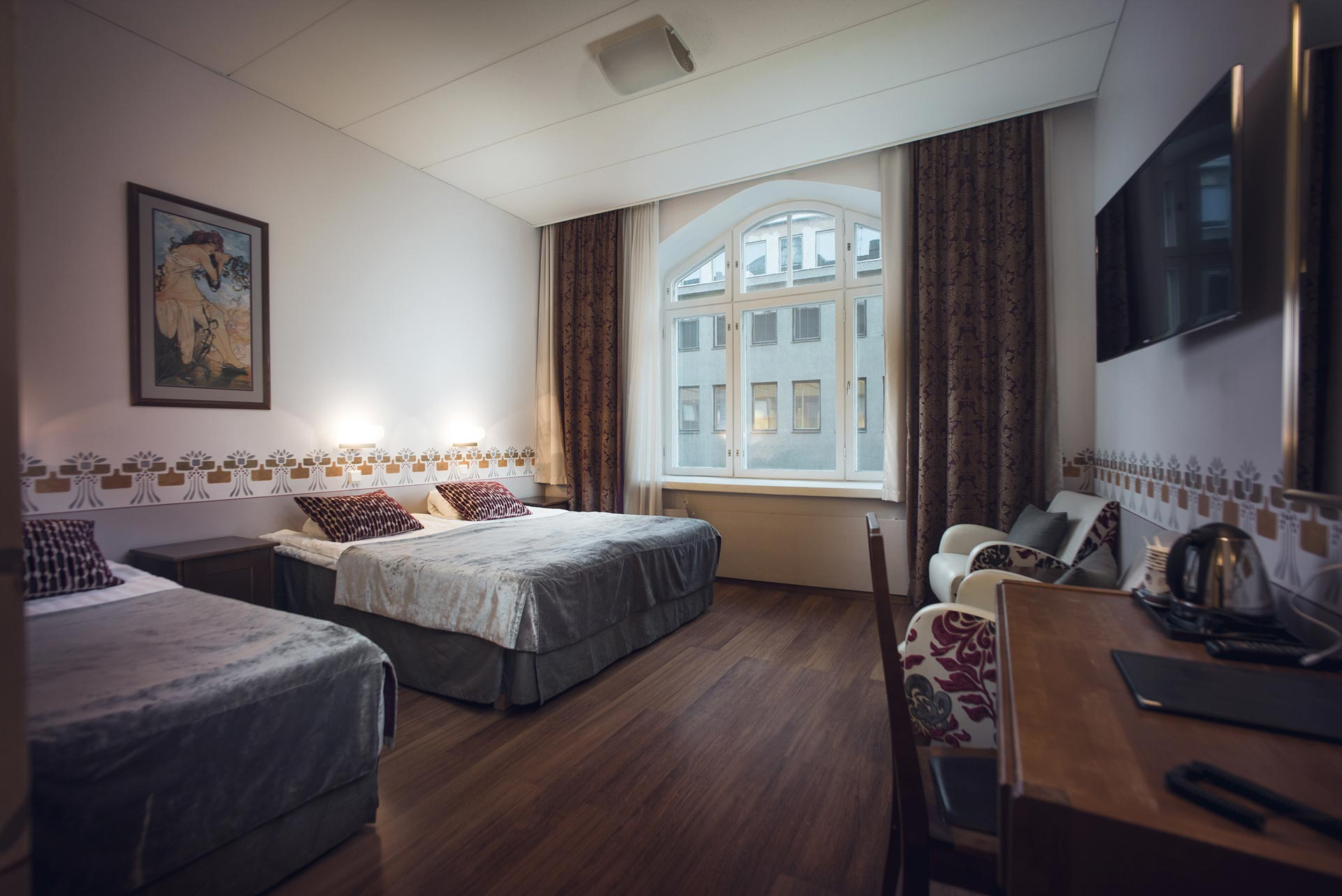 Hotel Arthur 3 hengen huone