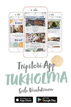 Tripsteri App Tukholmaa banneri