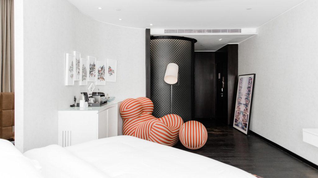 Designer Inspired Room hotelli Naumissa. Kuva: Naumi