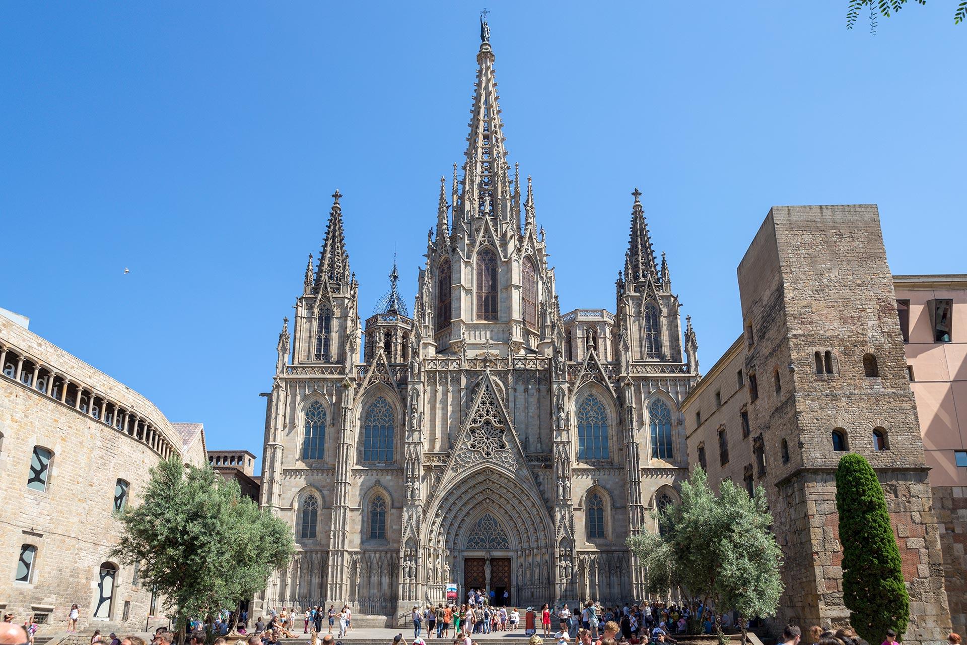 Barcelonan pääkatedraali © Tuulia Kolehmainen