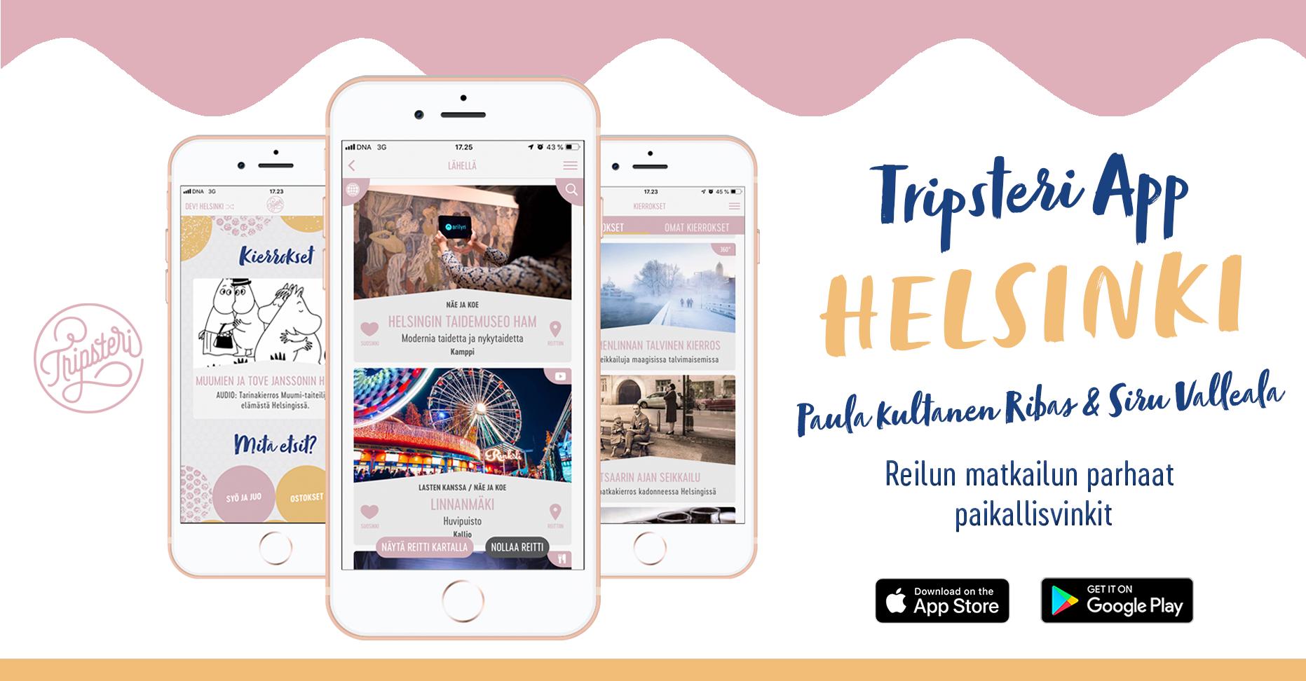 Tripsteri App Helsinki
