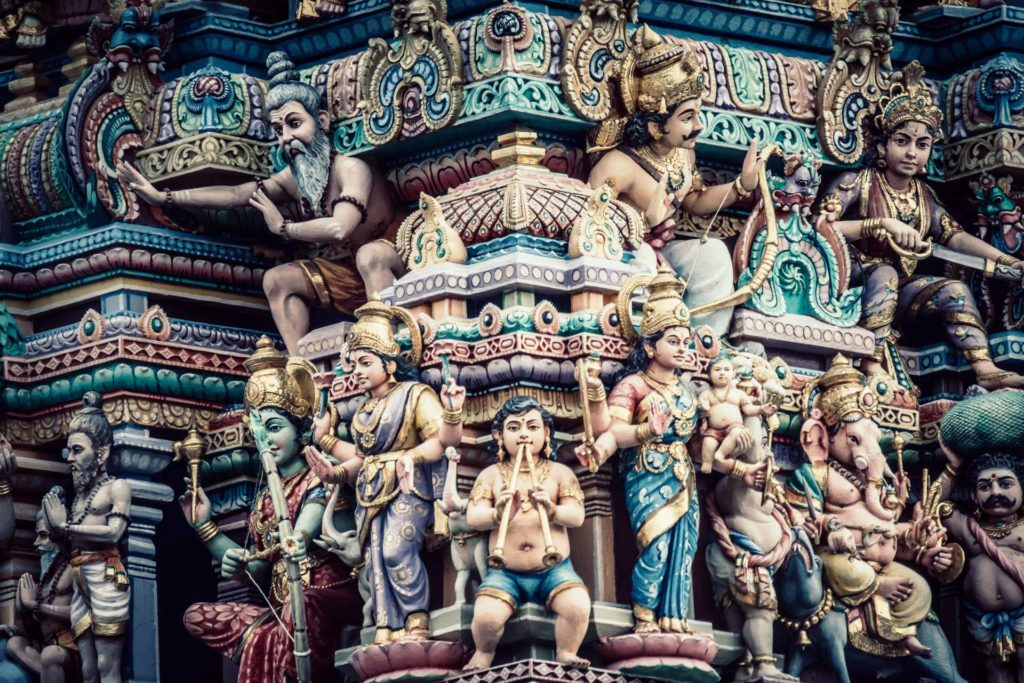 Sri Veerankaliamman on tuhonjumalatar Kalille pyhitetty temppeli. Kuva: Dominik Vanyi (Unsplash)