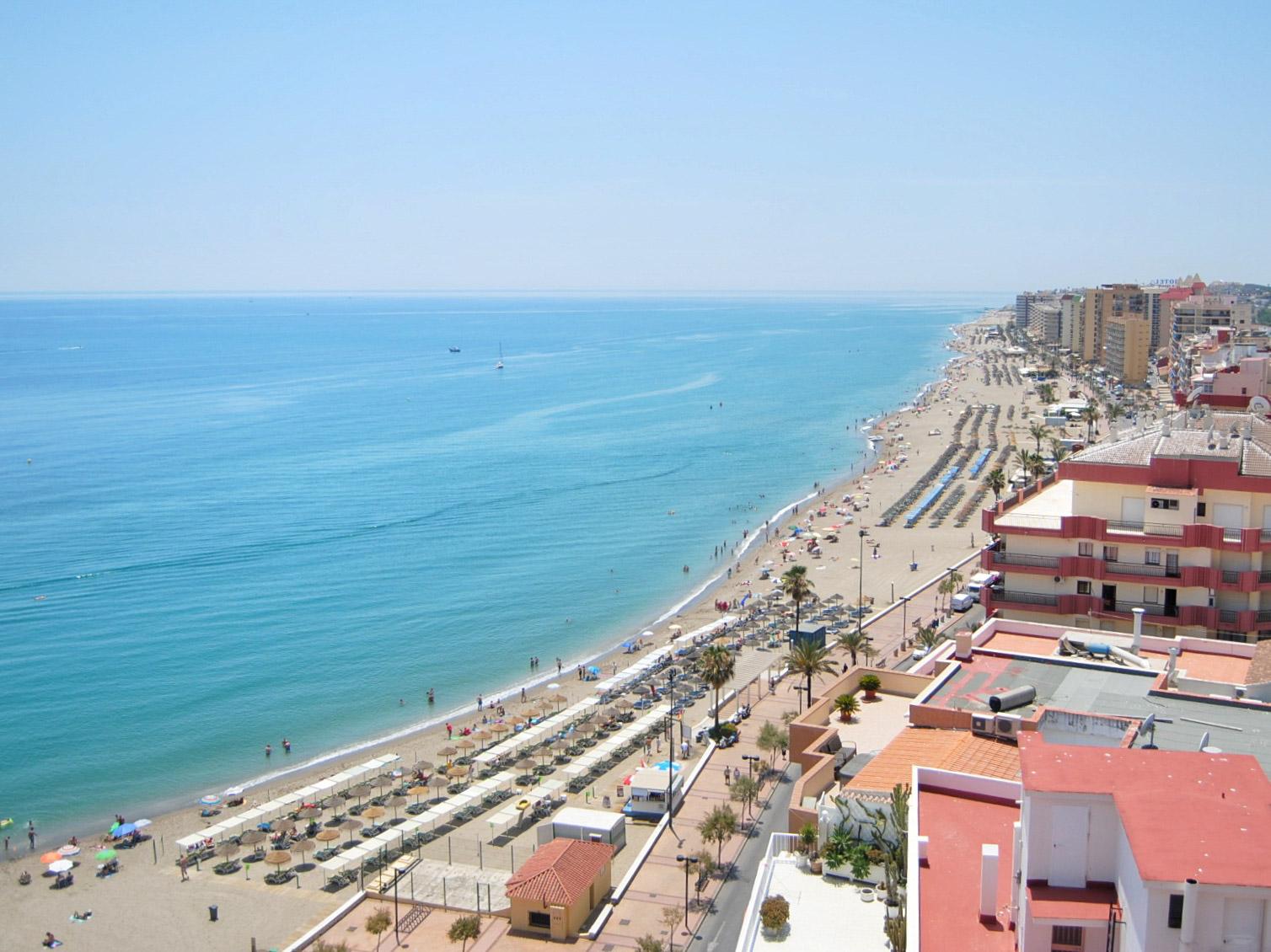 Costa del Sol hotellin kattoterassi