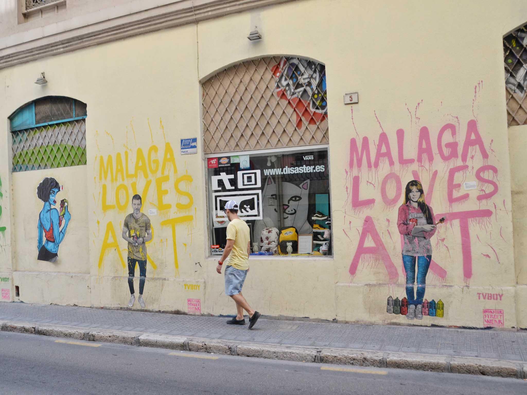 Malaga Soho putiikit