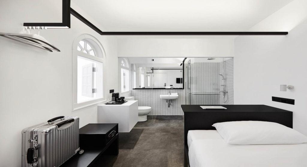 Hotel Mono yksinkertainen huone. Kuva: Hotel Mono