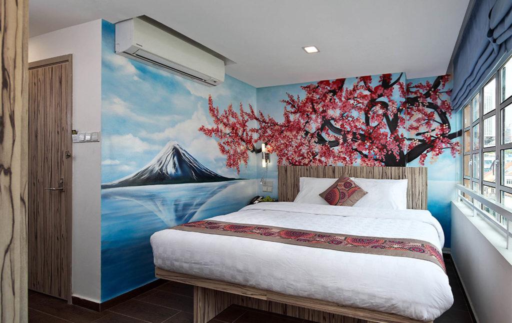 Singaporen edulliset hotellit. Kuva: Hotel Clover the Arts