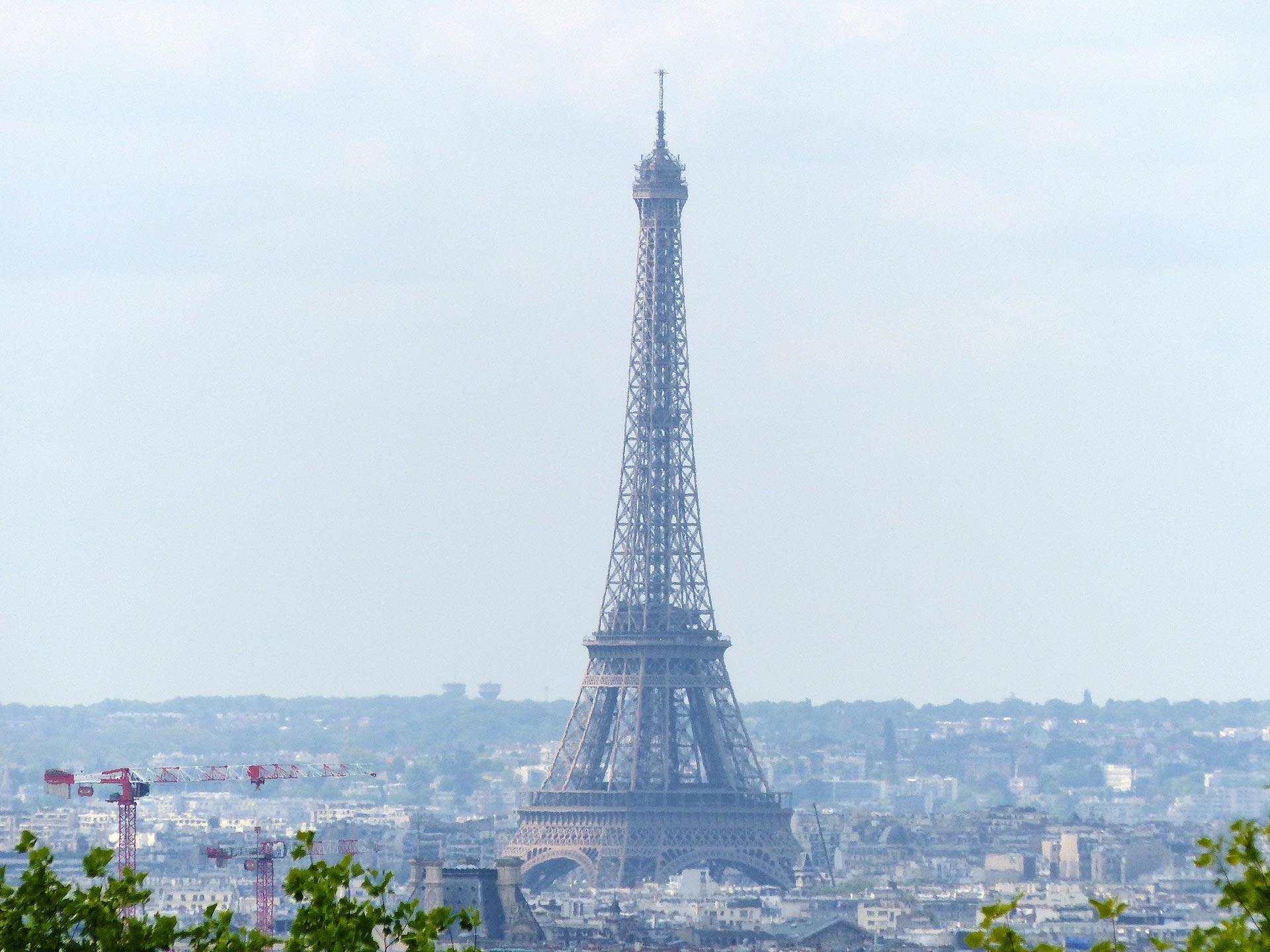 Eiffel-torni, Pariisi, kuva © Anneli Airaksinen