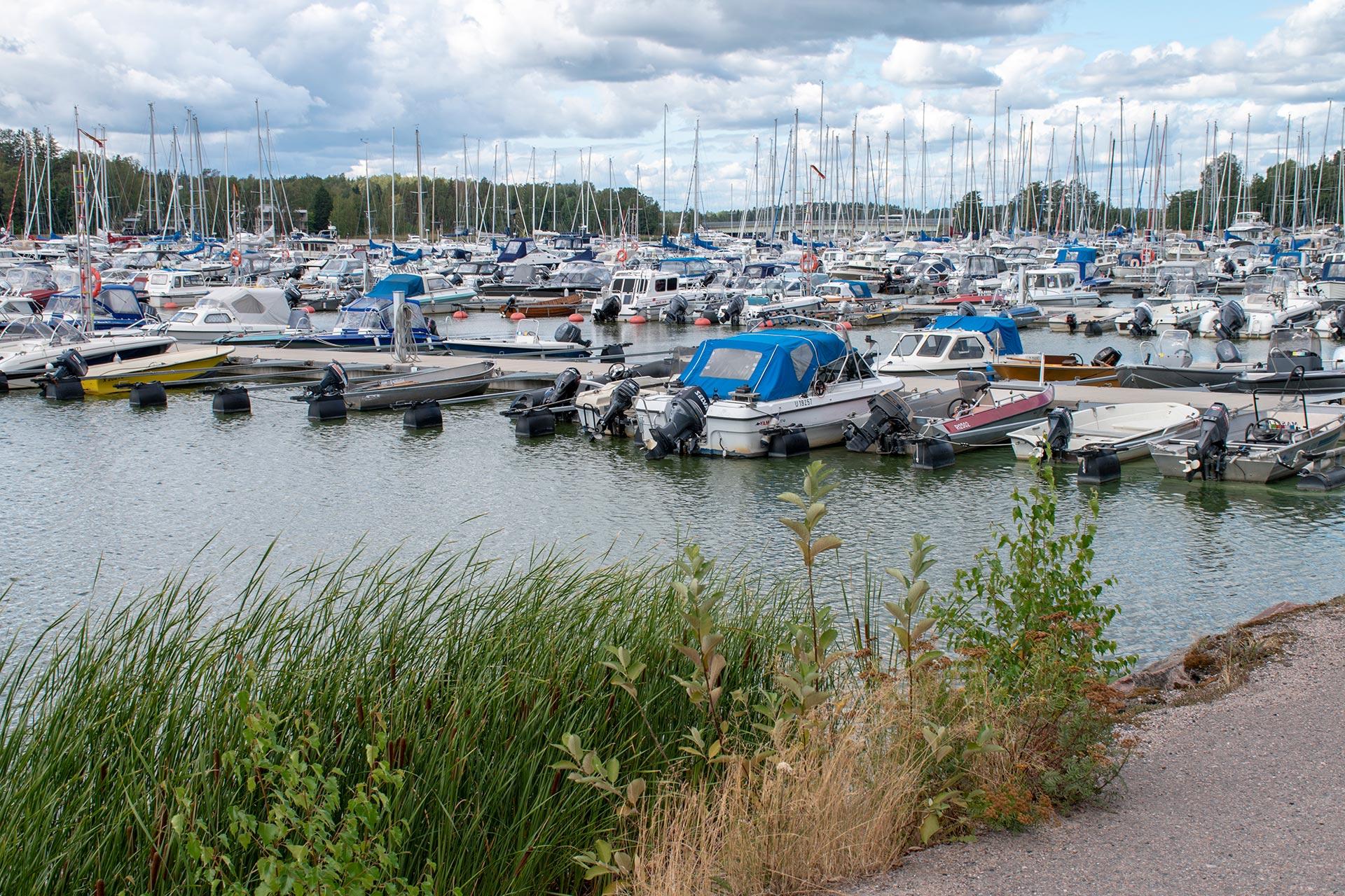 Kivenlahden venesatama © Visit Espoo