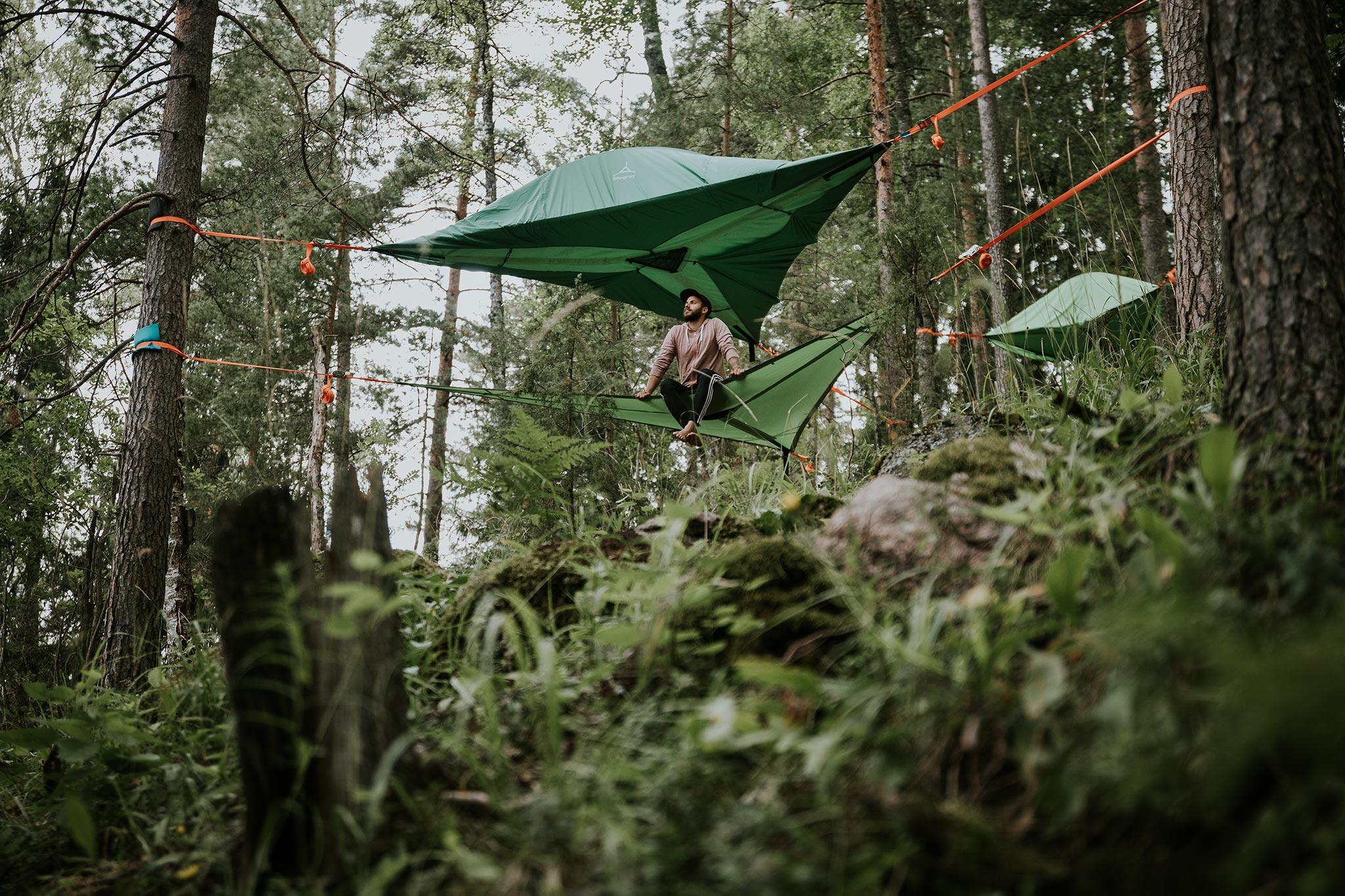 Honkalintu – Tentsile Eco Camp © Marjaana Tasala, Visit Espoo