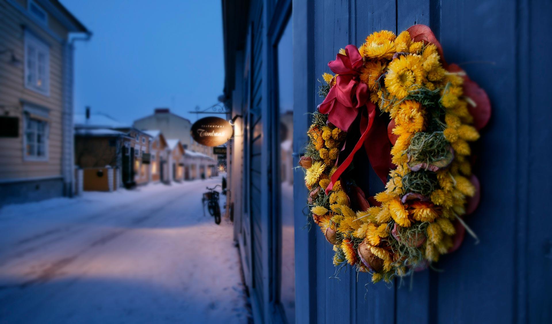 Joulu Porvoossa © Visit Porvoo