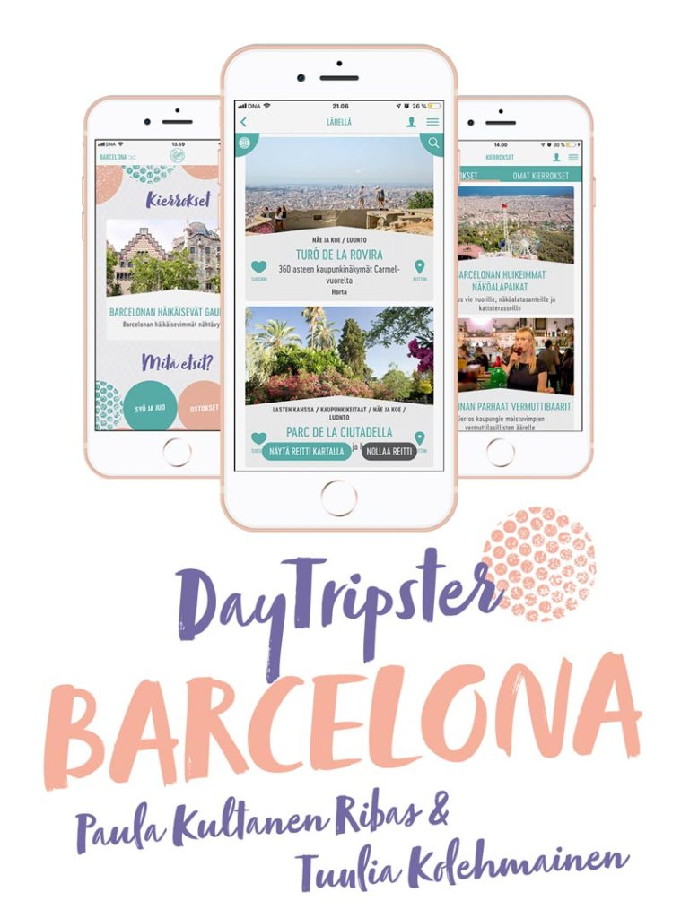 DayTripster Barcelona -sovellus