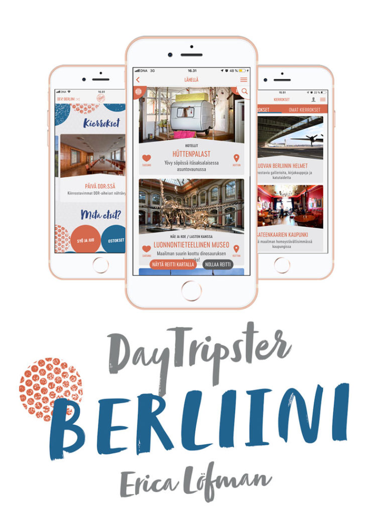 DayTripster Berliini App