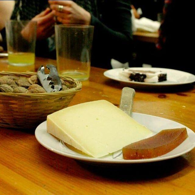 Siideritila ja Idiazabal-juusto