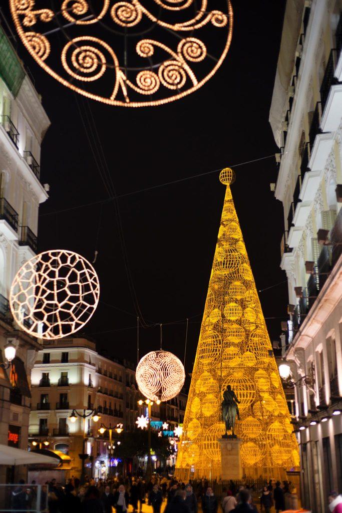 Madridin jouluvalot © Tuulia Kolehmainen