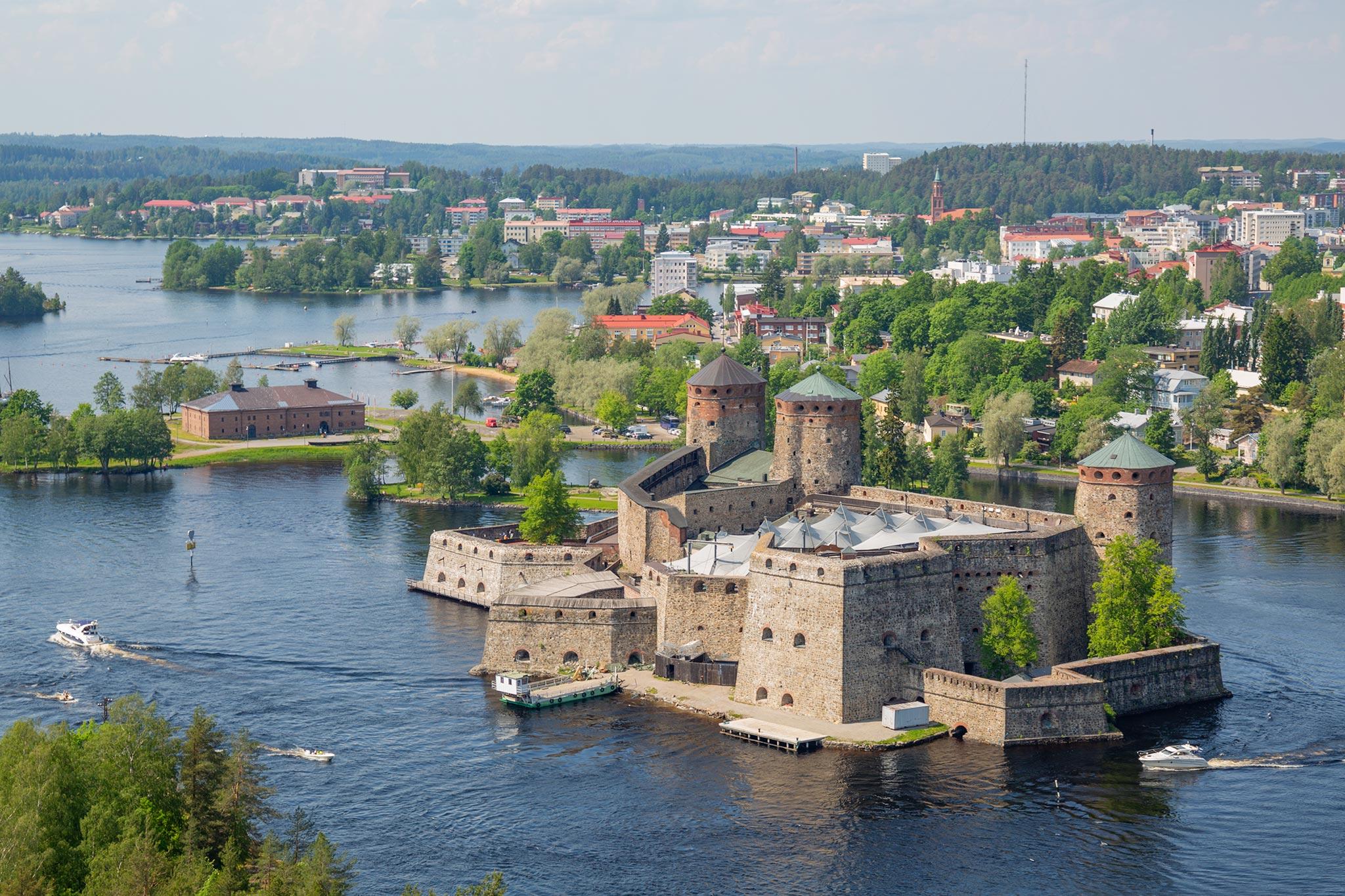 Olavinlinna © Savonlinnan kaupunki