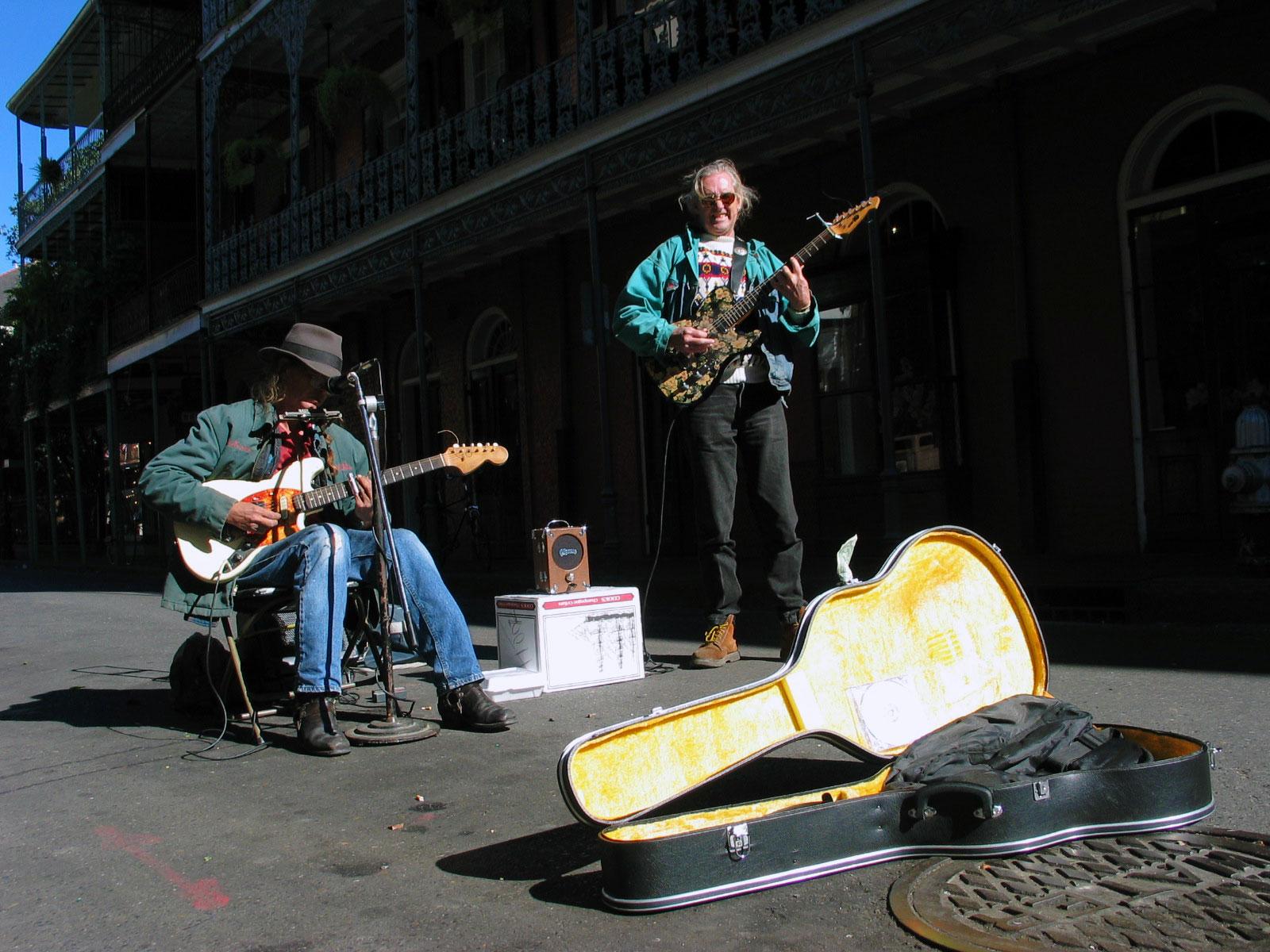 Katumuusikot New Orleansissa. Kuva: Miika Mattila